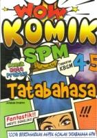 WOW KOMIK TATABAHASA TINGKATAN 4.5 KBSM SPM