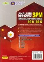 ANALISIS BERTOPIK KSPS 2011-2017 SEJARAH SPM