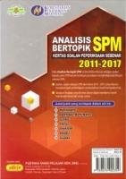 ANALISIS BERTOPIK KSPS 2011-2017 MATHEMATICS SPM