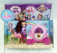 Elsa Frozen, My Little Pony , Sofia Carriage Series with Lighting and music