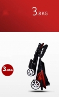 Toddler Baby Stroller Light Weight Easy Carry Red