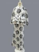 Girls Cotton Peplum Baju Kurung