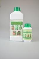 ASCO Bio Plant Food, organic liquid concentrated fertilizer (1 liter nett) and ASCO-nobm, organic concentrated liquid insect repellent (250ml nett)