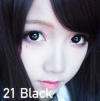 Luxury Babe Cotact Lens Black Color 21 / 180 /199 (Power 0-600)