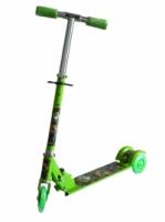 Adjustable Children Kids Scooter Bicycle- Green Benten