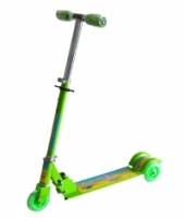 Adjustable Children Kids Scooter Bicycle- Green Spongebob