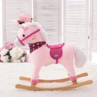 Rocking Musical Horse Pink (1-5 Years)