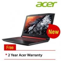 "Acer Nitro 5 AN515-52-73LN 15.6"" FHD IPS Laptop Black Red (I7-8750HQ, 4GB, 1TB, GTX1050 4GB, W10)"