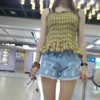 Women Fashion Denim Shorts - RDA 03 / Plus Size 牛仔短褲