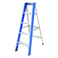 Everlas YSS05 Single Sided Aluminium Ladder 5 Step 1225MM (4.02')