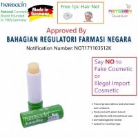 HERBACIN (Made in GERMANY) Kamille Lip Balm Camomile (4.8g) FREE 1pc Hair Net