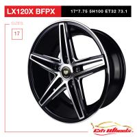 "17"" Sports Wheels - LX 120(X) BFPX 5H100"