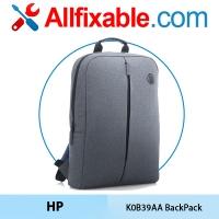 """HP Original Genuine 15.6"""" K0B39AA Laptop Notebook Value BackPack Bag"""