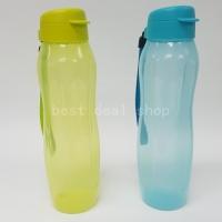 Tupperware Slim Eco bottle 1L Margarita and Blue ( Set of 2 )
