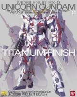 MG 1/100 RX-0 Unicorn Gundam Ver.Ka (Titanium Finish)