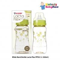 US Baby Lacta Flex PPSU Wide Neck Bottle - L330ml
