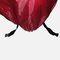 [DARK CLOUD - FULL RED] MOTORCYCLE RAIN UV COVER BELT LOCK/ BAG MOTORBIKE MOTOR