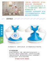 T5586 儿童过家家蓝色迷你小家电系列仿真电动功能(电话)