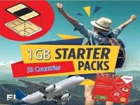 Oceania + Starter Pack ( 1GB-4GB )