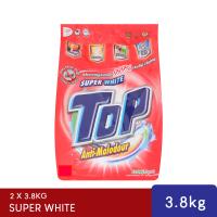 Top Super White Powder 3.8kg (Red) x 2 Pack