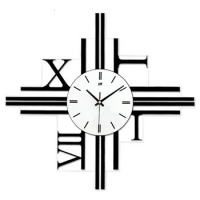 3D DESIGN WALL CLOCK - ROMAN NUMERIC