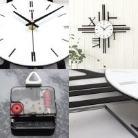 3D DESIGN WALL CLOCK - ROMAN NUMERIC