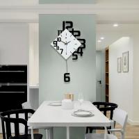 3D DESIGN WALL CLOCK - NUMBERIC