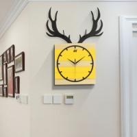 CREATIVE DESIGN WALL CLOCK - DEER HEAD