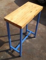 Side Table(60x 28cm x 74cm)(Blue Ivy)