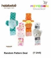 ( flash sale ) Holabebe Baby Wrist Rattles Hand A516 (Random Pattern Deal)