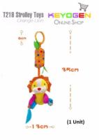 Stroller Hanging Toy Orange Lion T218