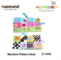 ( flash sale )Holabebe Baby Soft Book Cloth Book T334 (Random Pattern Deal)