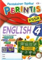 PENTAKSIRAN TOPIKAL PERINTIS ENGLISH YEAR 4 KSSR 2019