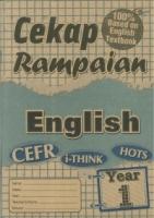CEKAP RAMPAIAN ENGLISH YEAR 1 KSSR 2019