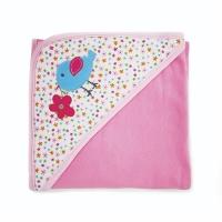 Baby Hooded Blanket A718 (Random Pattern Design)