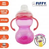 JJ's - PP Spout Cup Little Melon with Handle 230ml