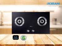 Robam A809 Chimney Hood + B920 Burners Glass Hob