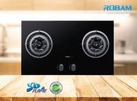 Robam A809 Chimney Hood + B928 2 Burners Glass Hob