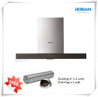 Robam A810 Chimney Hood + B920 Burners Glass Hob