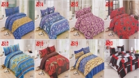 SINGLE size fitted bedsheet(JS)