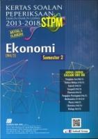 KERTAS SOALAN PEPERIKSAAN TAHUN-TAHUN LEPAS 2013-2018 EKONOMI(2) STPM