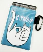RipNdip spring clip travel pouch