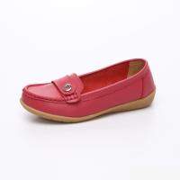 UNISHO Women Flats Leather Designer_Shoes - U1003 FUCS