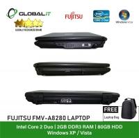 (Refurbished Notebook) Fujitsu FMV-A8280 Laptop / 14 inch LCD / Intel Core 2 Duo / 2GB Ram / 80GB HDD / WiFi / Windows Vista