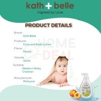 KATH + BELLE - FACE & BODY LOTION (PEACH) - 250 ML