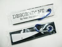 Decendant keytag keychain