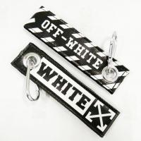 Off White keytag keychain