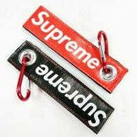 Supreme box logo keytag keychain