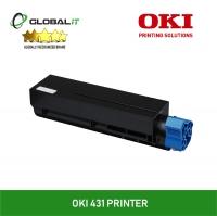 (Refurbished) OKI B431dn Laser Printer + 1 Unit Oki B431 Compatible Toner