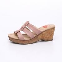 UNISHO Women Wedges Designer_Shoes - 1493 WEDGES PINK